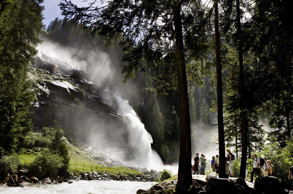 Krimmler Wasserfälle ✰ Sonnenterrasse.at ✰ St. Veit-Schwarzach ✰ Urlaub im Salzburger Land