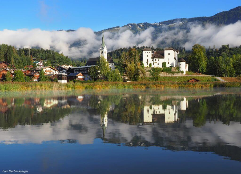 Schloss Goldegg ✰ Sonnenterrasse.at ✰ St. Veit-Schwarzach ✰ Urlaub im Salzburger Land