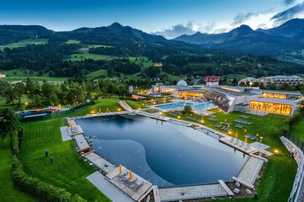alpentherme ✰ Sonnenterrasse.at ✰ St. Veit-Schwarzach ✰ Urlaub im Salzburger Land
