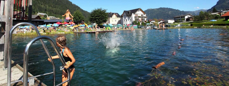 Schwimmfest mit der Volksschule