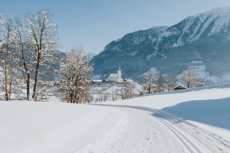 Winter ✰ Sonnenterrasse Winterurlaub im Salzburger Land