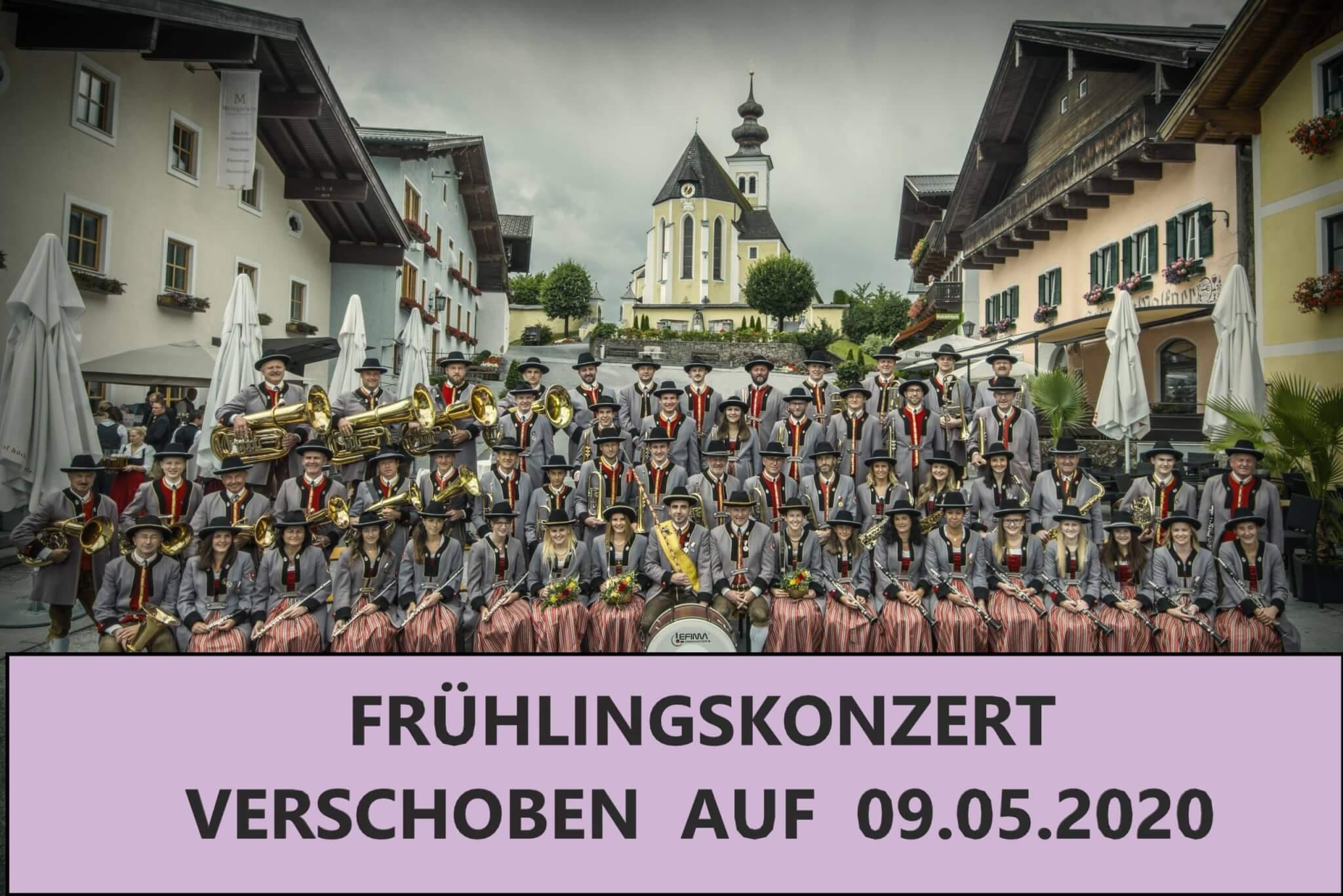 VERSCHOBEN auf 09.05.2020!  Frühlingskonzert der Trachtenmusikkapelle St. Veit