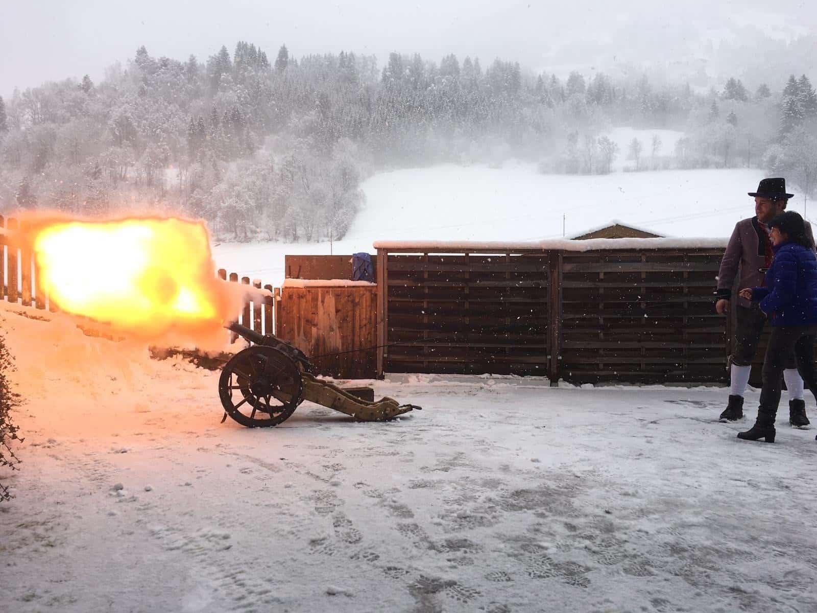 Silvesterschießen mit den Bauernschützen