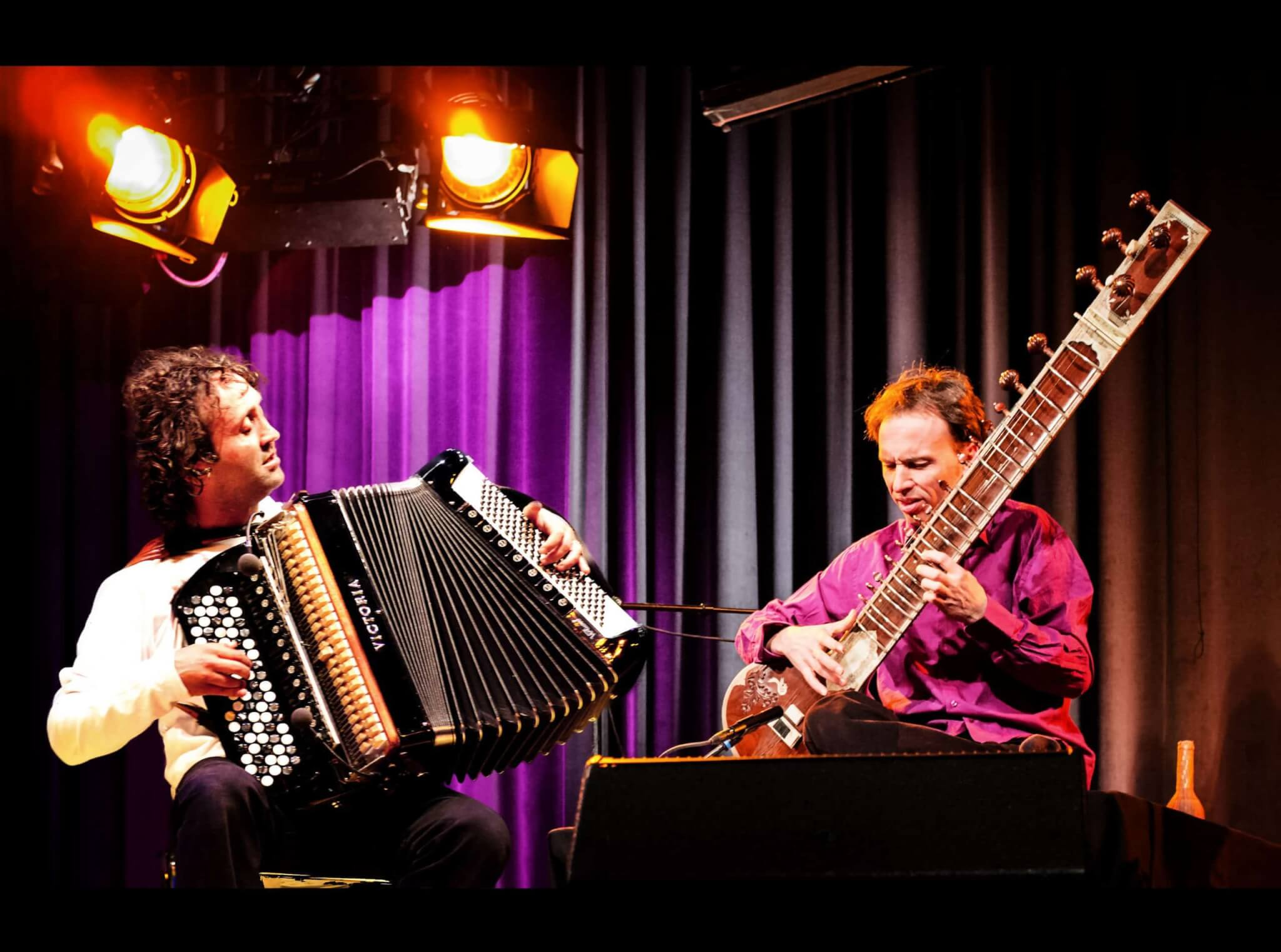 World Music: Luciano Biondini (accordion) & Klaus Falschlunger (Sitar)